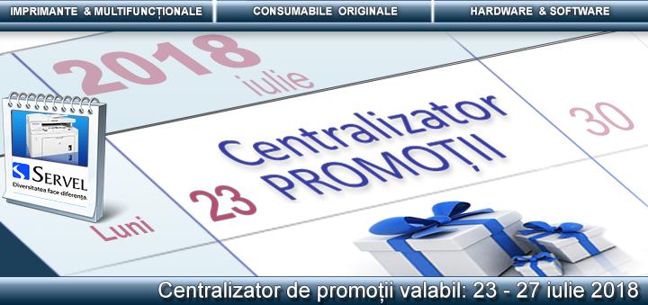 Centralizator disponibil pe www.servel.ro